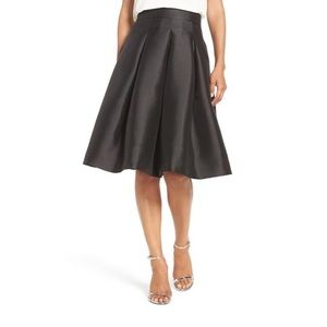 Eliza J A-Line Pleated Skirt